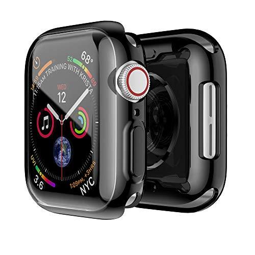 NEU! Tensay Für apple watch sport aluminium ultra-slim case schutzrahmen stoßstange schutz kratzfest case für serie 4 40mm, professionelle uhr zubehör (Watch Tools Zurück Fall öffner)