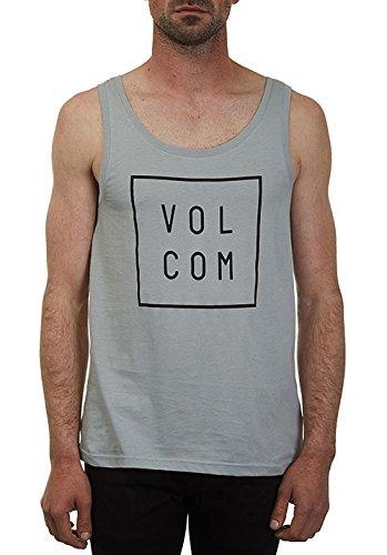 Volcom Flagg Lightweight Canotta da grigio T-Shirt senza maniche, Uomo, Flagg Lightweight Tank Top ärmelloses T-Shirt Herren Muskelshirt Grau, grigio, M