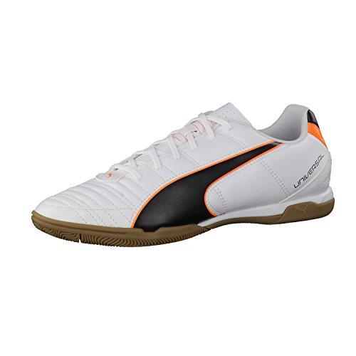 Puma  Universal II IT, Chaussures indoor homme - Blanc/Noir