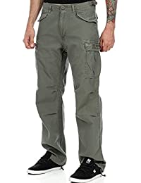 West Coast Choppers Cargohose M-65 Army Grun