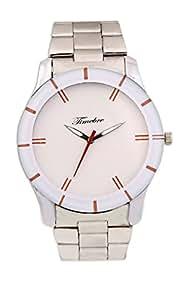 Timebre Men's Steel White Analog watch