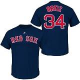 David Ortiz Boston Red Sox MLB Player T-Shirt Chemise