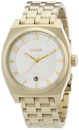 Nixon The Monopoly Light Gold / Silver Herrenuhr (A3251219)