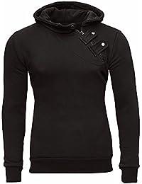 420622bd74c5 Tazzio Herren Styler Sweatshirt mit Kapuze Pullover Hoodie 16212