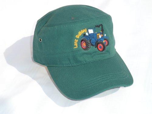 Lanz Bulldog Cap in Army/Trooper-Style grün