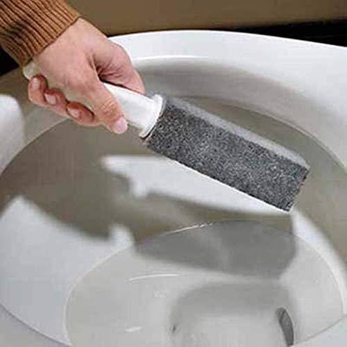 EisEyen 2 Stück Bimsstein Reinigungs WC Toilette Bürsten mit Griff Für Küche,Bad,Pool,Haushalts...