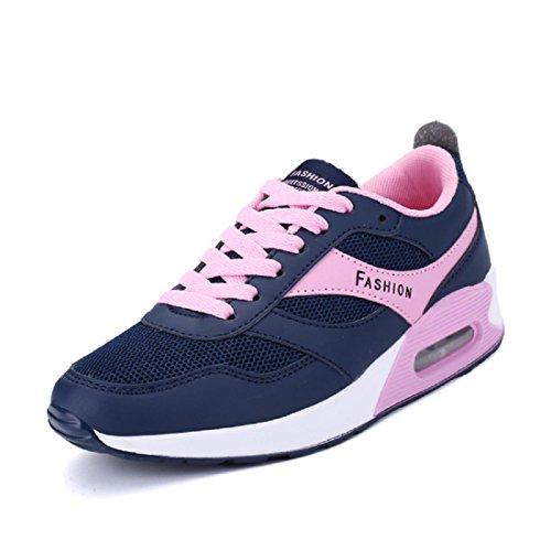 Hommes Chaussures de sport Le nouveau imperméable Respirant Entraînement Chaussures de course women blue