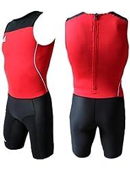 Adidas WL Suit M Hombre Atletismo Ligero Levantamiento de Peso Mono Overall - Rojo, D5 | US S-M | Fr 174