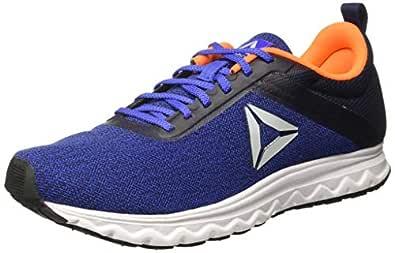 Reebok Men's Navy/Blue/Orange/Blk Running Shoes-7 UK/India (40.5 EU)(8 US) (Flyer Lp)