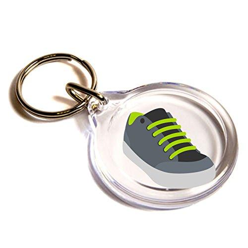 scarpa da ginnastica Emoji anello chiave / Athletic Shoe Emoji Key Ring