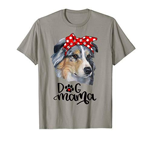 Australian Shepherd Dog T-shirt (Australischer Schäferhund Dog Mama T-Shirt Hundemutter)