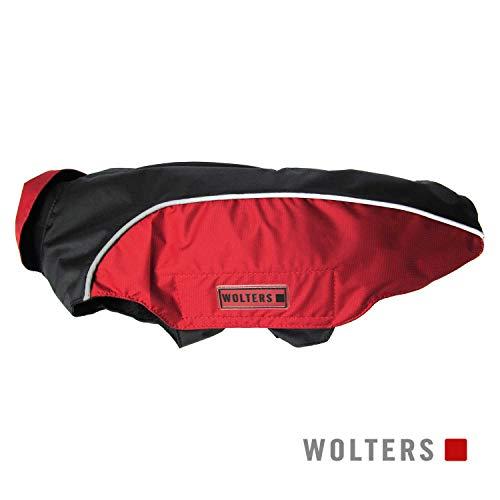 Wolters   Regenjacke Easy Rain in Schwarz/Rot   Rückenlänge 26 cm