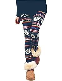 Ouneed® Femme Imprime Legging en Polyester
