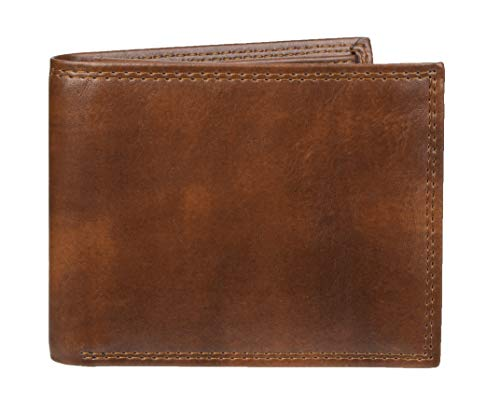 Amazon Essentials RFID Passcase Bifold Wallet, Porte-feuille Homme, Marron (Brown 200), Taille Uniqu