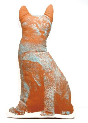 Areaware Grande Cuscino a Forma di Gatto