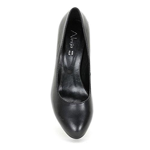 Alesya Shoes & Shoes - Chaussures À Talons Et Plateforme Noire À Talons