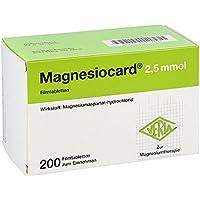 Magnesiocard 2,5 mmol Filmtabletten 200 stk preisvergleich bei billige-tabletten.eu