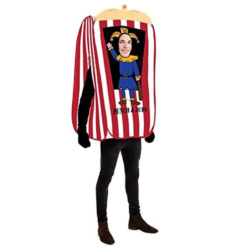Mann Kostüm Puppet - Fun Shack Herren Costume Kostüm, Punch & Judy Man Man, Einheitsgröße