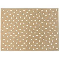 Lorena Canals A-G DOT-LC Dots Linen - Beige, 140 x 200 cm