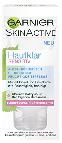 Garnier Hautklar Sensitiv Anti-Unreinheiten Pflege, 6er Pack (6 x 50 ml)