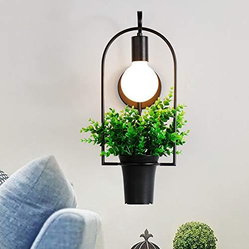 Vivi VI Wandleuchte Creative Wall Lighting- Creative Modern 1 Halter Eisen  Grünpflanzen Wandleuchten Wohnzimmer Schlafzimmer Beleuchtung Balkon