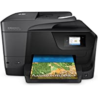 HP Officejet Pro 8710 All-in-One Printer, Instant Ink Compatible - Black
