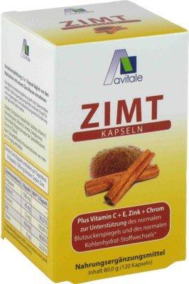 Zimt Kapseln 500 mg+Vitam 120 stk
