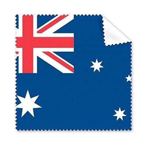 CFHJN Home Australien Drapeau National Oceanie Pays Symbole Marken-Brillenputztuch-Tuch-Telefon-Bildschirm-Reiniger