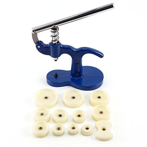 Uhrmacher Drücken Werkzeug Reparatur Uhr Case Kit Set zurück Fall Closer Glas stirbt