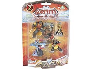 Gormiti - Blister 4 Figuras 5 cm, Serie 2 (Giochi Preziosi GRM22000)