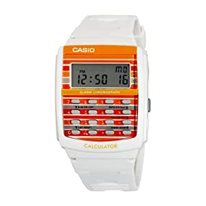 casio femmes ldf40 7 blanc montre calculatrice 8 chiffres casio montres. Black Bedroom Furniture Sets. Home Design Ideas