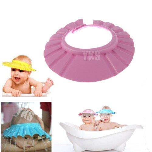 toogoor-baby-kind-weiche-einstellbar-shampoo-badewanne-dusche-muetze-rosa