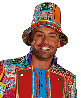 (Crazy Folk Hat Man Hut Accessoires Karneval Halloween)