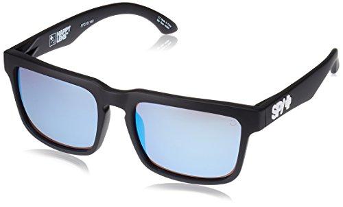 SPY OPTIC Sonnenbrille Helm matte black - Happy bronze w/light blue Brille Sunglasses