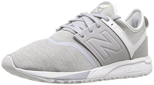 New Balance Damen 247 Sneaker, grau/weiß, 39 EU