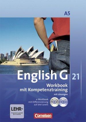 English G 21 Ausgabe A. Band 5. 9. Schuljahr. Workbook mit e-Workbook und CD-Extra - Mit Lsungsschlssel
