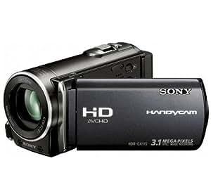 SONY Caméscope Haute Définition HDR-CX115 - noir + Sacoche de transport TBC305K + Batterie SFV50 + Carte mémoire SDHC 16 Go .