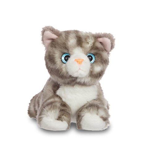 "Aurora World 60709 ""Luv to Cuddle Grey Tabby Cat"" Plush Toy"