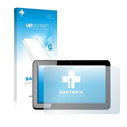 upscreen Bacteria Shield Clear Bildschirmschutz Schutzfolie für HP Elite x2 1011 G1 (antibakterieller Schutz, hochtransparent)