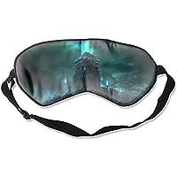 Fantasy City Sci Fi Building Apokalyptische süße Schlafmaske, Therapie für Schlaflosigkeit, geschwollene Augen... preisvergleich bei billige-tabletten.eu