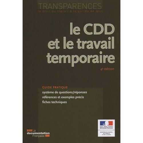 Le CDD et le travail temporaire (4e édition)