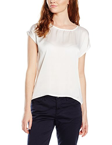 Omer Ohne Arm, Jolina, T-Shirt Donna Off White 0041