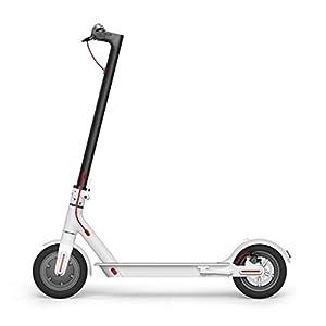 Xiaomi Mi Scooter - Patinete eléctrico plegable, 30 Km alcance, 25km/h, blanco