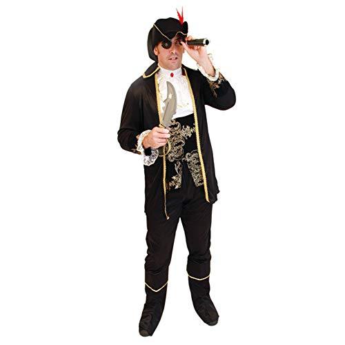 MTSBW Halloween Kostüm Piraten Paar Cosplay Männlichen und Weiblichen Erwachsenen Prom Party Outdoor Horror,Men