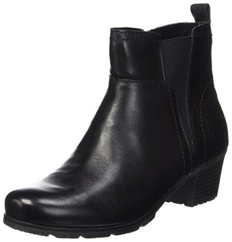 7dc896aa84ae36 Jana Damen 25312 Chelsea Boots Schwarz (Black) 40 EU