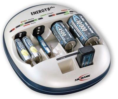 Preisvergleich Produktbild Original Tischladegerät für ANSMANN ENERGY 8 PLUS Original