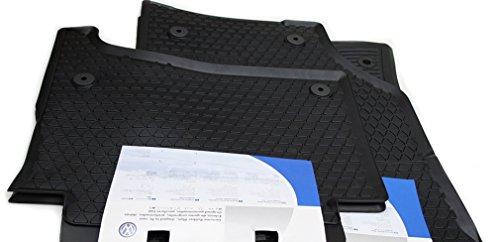 Preisvergleich Produktbild Original Volkswagen VW Ersatzteile VW Touareg 7L Gummi Fußmatten 4-teilig, Original VW Gummimatten