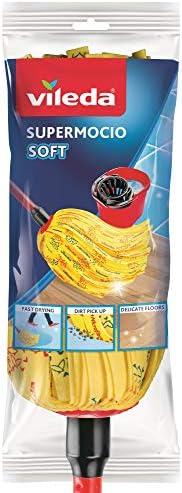 Vileda Soft Supermocio Floor Mop with Stick