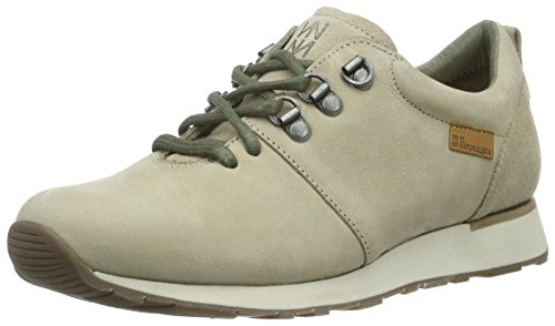 El Naturalista Nd64 Pleasant-Lux Suede Piedra / Walky, Baskets Basses Mixte Adulte Gris (Piedra N7S)