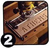 Sign Pro Buchstaben & Zahlen fräsen Set